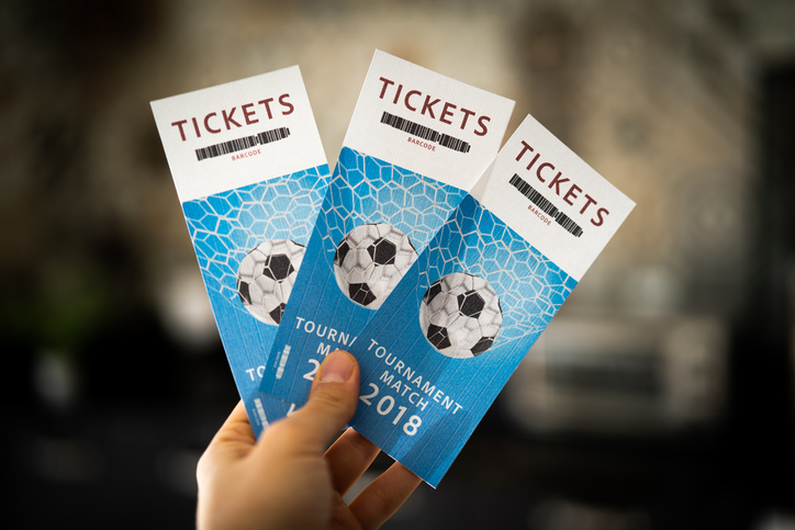 Football Ticket Printing